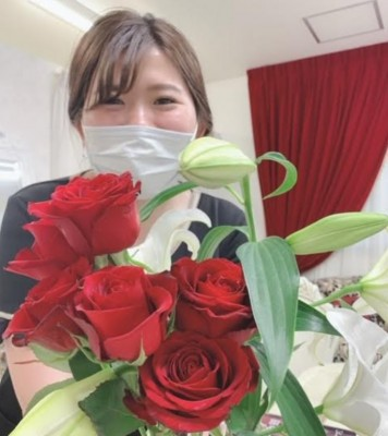 akanreとバラの花